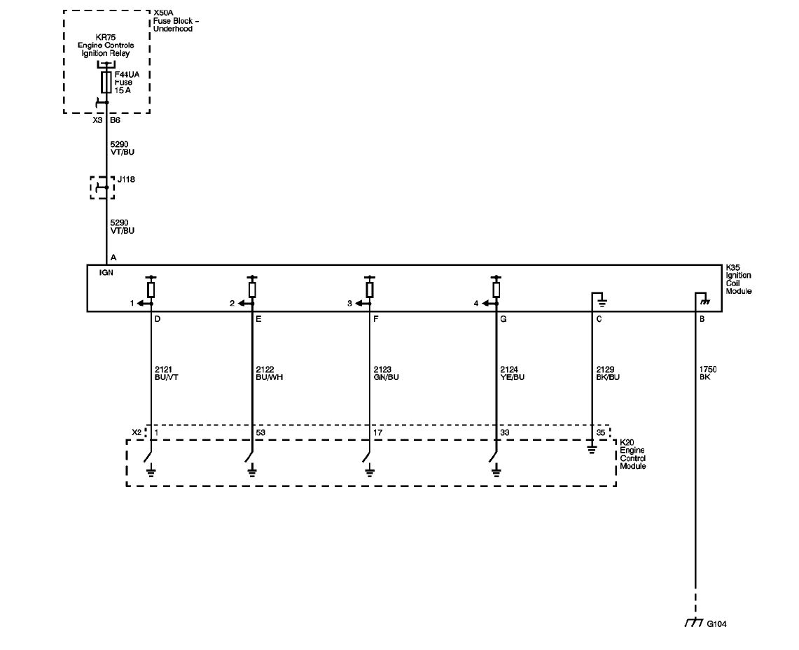 Ls Ignition Coil Wiring Diagram Schematics Chevrolet Gm Ls2 Electrical Diagrams Chevy